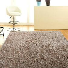 Orlando Cream FOUR SIZES New Designer Thick Shaggy Floor Rug FREE DELIVERY