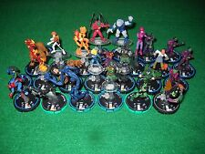 HEROCLIX FANTASTIC FOUR DR DOOM BLACK BOLT U SPIDER-MAN SUPER SKRULL U CRYSTAL U