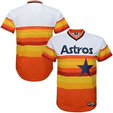 Houston Astros MLB Mens Majestic Cooperstown V Neck Jersey Big & Tall Sizes