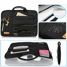 """New BLACK Zipper Sleeve Bag Case Cover for All Laptop 13""""15"""" Macbook / Pro / Air"""