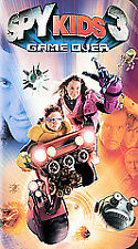 Spy Kids 3: Game Over (VHS, 2004, 2-D Version)  !!!Free First Class Shipping!!!