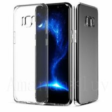 For Samsung Galaxy S8/S8+/S7 Edge Soft Case Cover Clear Ultra Thin Gel Silicone