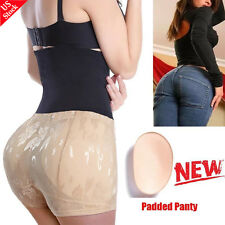 Seamless Breathable Butt Lifter Hip Enhancer Panty Padded Brief Shaper Underwear