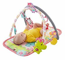 Fisher-Price Friends 3-in-1 Musical Baby Safe Toys Activity Todler Gym Pink