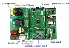 Power Jack new control board of LF pure sine wave power inverter, repair part
