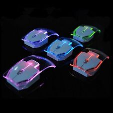 Colorful High Quality Wireless Optical Mouse/Mice USB Receiver for PC Laptop NEW