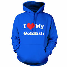 I Love My Goldfish - Unisex Hoodie / Hooded top - Fish - Bowl - Fishbowl