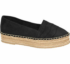Deichmann Star Collection women Chunky Espadrilles black New