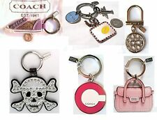 COACH Signature Shoe, Skull, Purse, Travel Key Chain Ring Key FOB, NWOT