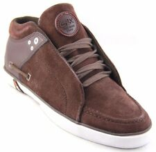 GBX Men's  Dark Brown Suede/Leather Casual Shoes 133982