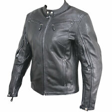Xelement XS-2002 Womens Armored Leather Motorcycle Jacket