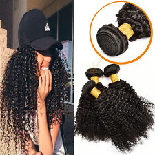 3 Bundle 300g Kinky Curly Brazilian Virgin Hair Curly Weave Human Hair Extension