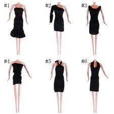 Handmade Vintage Black Dress Outfit Clothes for Barbie Dolls Best Collection