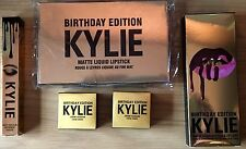 KYLIE JENNER COSMETICS 5-PIECE LIMITED EDITION BIRTHDAY COLLECTION.