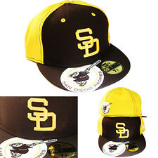 New Era San Diego Padres 5950 Cooperstown Classic Fitted Hat Vintage Brown Cap