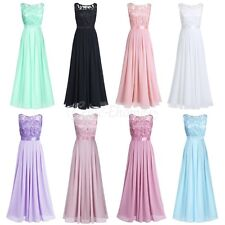 Formal Women Embroidered Dress Prom Evening Party Cocktail Bridesmaid Wedding
