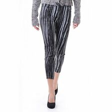 Women's Vivienne Westwood Anglomania Basic Striped Trouser Black