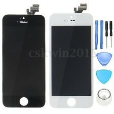LCD Display+Touch Screen Digitizer Assembly Replacement w/Tools For iPhone 5S