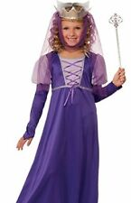 Renaissance Queen Purple Child Costume - 2 Sizes