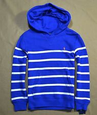 NWT KIDS BOYS POLO RALPH LAUREN STRIPED PULLOVER JACKET HOODIE SZ 2T-12