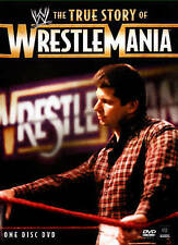 THE WWE: THE TRUE STORY OF WRESTLEMANIA [NEW DVD]