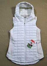 NWT WOMENS THE NORTH FACE MA THERMOBALL VAPOROUS GRAY DOWN VEST JACKET COAT M L