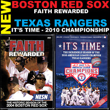 MLB Lots (1,2 DVD Lots) Boston Red Sox: Faith Rewarded, Texas Rangers: It's Time