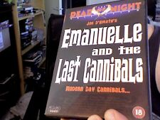 EMANUELLE AND THE LAST CANNIBALS - DVD. UK PAL.