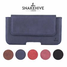 Snakehive® Samsung Galaxy Note 4 Vintage Leather Belt Pouch Utility Phone Case