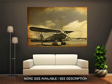 Wall Art Canvas Print Picture Old Propeller Vintage Airplane-Unframed