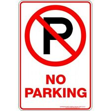 Safety Sign - NO PARKING P