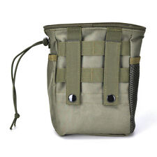 Small Military Molle Tactical Magazine Pocket DUMP Ammo Drop Utility Pouch CMUS