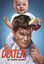 Dexter: The Fourth Season (DVD, 2010, 4-Disc Set) NEW