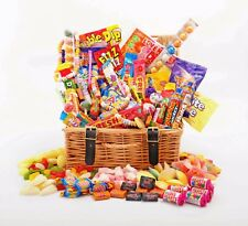 Sweet Hamper Gift Box Retro Mix Sweets Choose Size Birthday Thank You Christmas
