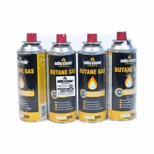 BUTANE GAS CANISTERS FOR COOKER HEATER BBQ CAMPING REFILLS CANS
