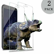 2X Tempered Glass Screen Protector Clear Anti Scratch for iPhone 7+ 7 6+ 6S 5S 4