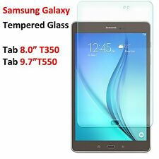 "Tempered Glass Screen Protector Film Guard for Samsung Galaxy Tab A 8.0"" & 9.7"""