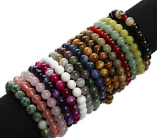 REIKI PROGRAMMED CRYSTAL Gemstone Bracelet Cleansed Cleared  Attuned Customized