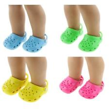 """Trendy Sandals Slippers Shoes for 18"""" American Girl Our Generation My Life Doll"""
