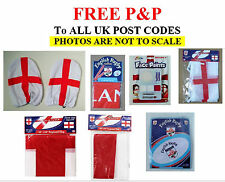 RUGBY SUPPORTERS FLAGS, BUNTING, FACE PAINT, INFLATABLE RUGBY BALL, & MUCH MORE