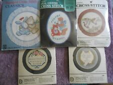 YOUR CHOICE: DESIGNS FOR THE NEEDLE COUNTED/STAMPED CROSS STITCH KITS with HOOPS