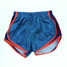 Nike 2556 Womens Dry Tempo Printed Running Shorts Light Photo Blue Royal Blue