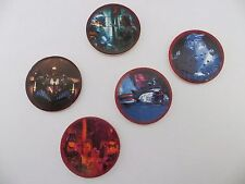 'You Choose' Kellogg's Cereal 1997 Batman & Robin Disc/Tazo/Pog Set Collection