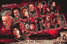 THE LOST BOYS MOVIE POSTER - VARIOUS SIZES + A FREE A3 SURPRISE POSTER (1)