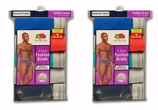 Fruit of the Loom Men's Fashion Briefs 10-pack Underwear ASSORTED COLORS