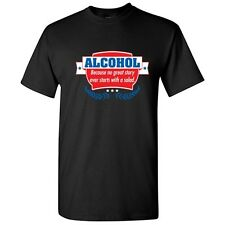 Alcohol Salad SarcasticAdult Drinking Cool Graphic Gift Idea Humor Funny T Shirt