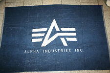 Alpha Industries Bath towel 111901 new blue/white new Bath towel Mallorca 2016