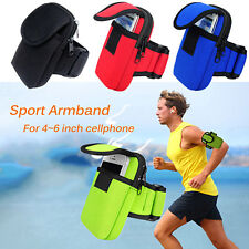 Cycling Sports Running Cell Phone Arm Band bag wrist Pouch Key Package H5