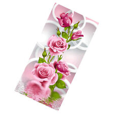 DIY Diamond Embroidery Painting Cross Stitch Home Decor Flowers Rose Trees