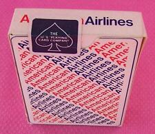 Vintage NEW!  American Airlines Deck of Playing Cards Modern Sticker Style Seal